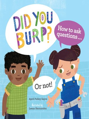 cover image of Did You Burp?
