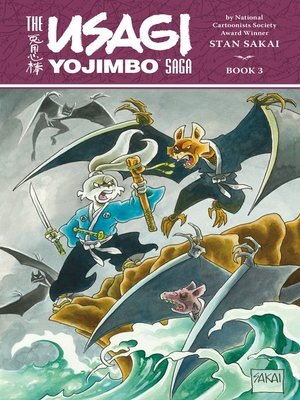 cover image of Usagi Yojimbo Saga, Volume 3