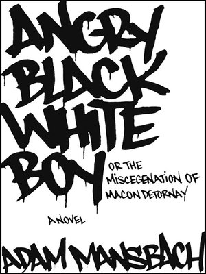 cover image of Angry Black White Boy