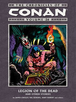 cover image of The Chronicles of Conan, Volume 26