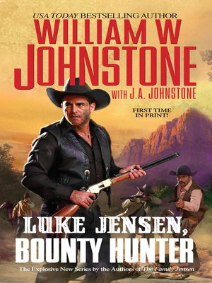 cover image of Luke Jensen, Bounty Hunter