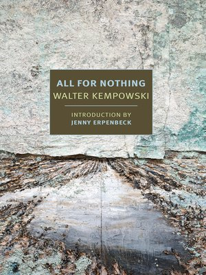 cover image of All for Nothing