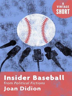 cover image of Insider Baseball