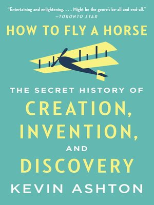 cover image of How to Fly a Horse