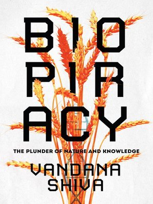 cover image of Biopiracy