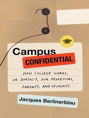 cover image of Campus Confidential