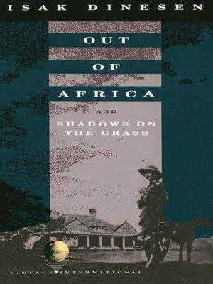 cover image of Out of Africa