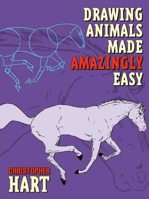 cover image of Drawing Animals Made Amazingly Easy