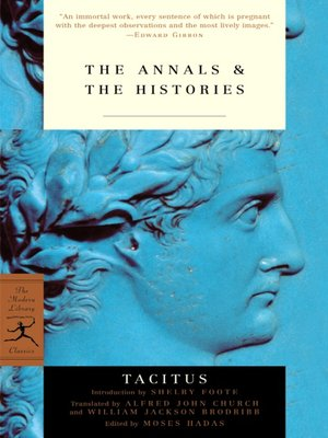 cover image of The Annals & The Histories