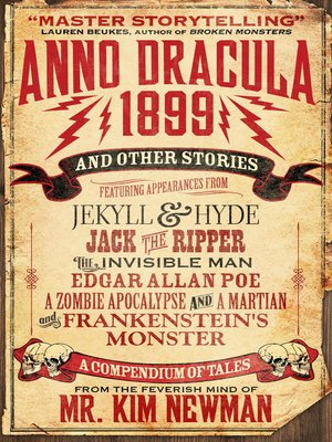 cover image of Anno Dracula 1899 and Other Stories