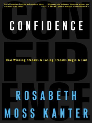 cover image of Confidence