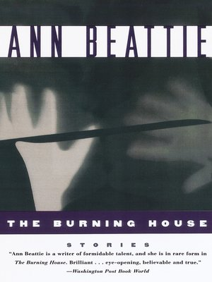 cover image of The Burning House