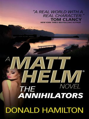 cover image of The Annihilators