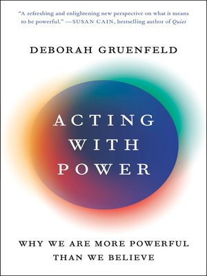 Acting with Power Book Cover