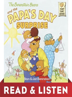 cover image of The Berenstain Bears and Papa's Day Surprise
