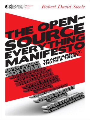 cover image of The Open-Source Everything Manifesto