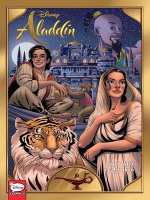 cover image of Aladdin: Four Tales of Agrabah