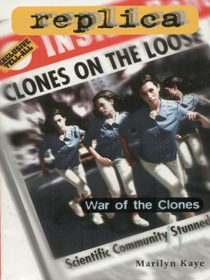 cover image of War of the Clones (Replica #23)
