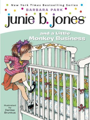 cover image of Junie B. Jones and a Little Monkey Business