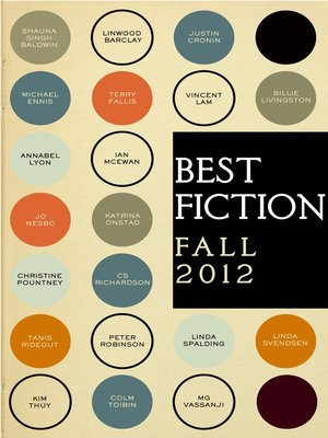 cover image of Best Fiction Fall 2012 Sampler