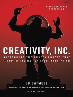 cover image of Creativity, Inc.