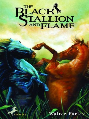 cover image of The Black Stallion and Flame