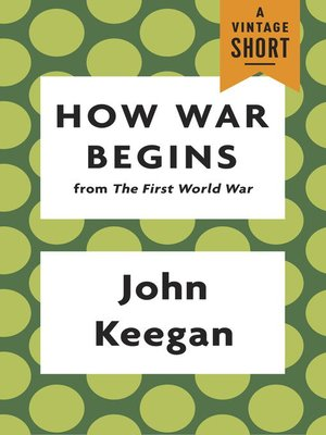 cover image of How War Begins