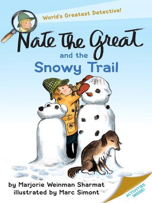 cover image of Nate the Great and the Snowy Trail
