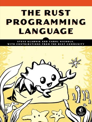 cover image of The Rust Programming Language