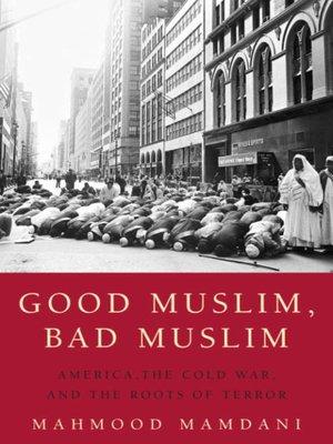 cover image of Good Muslim, Bad Muslim