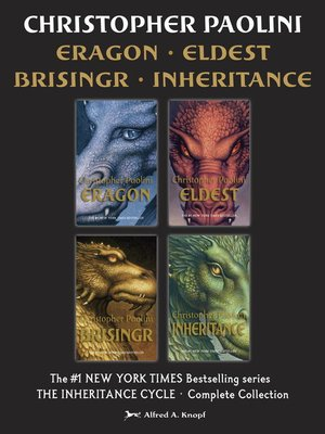 cover image of The Inheritance Cycle Complete Collection