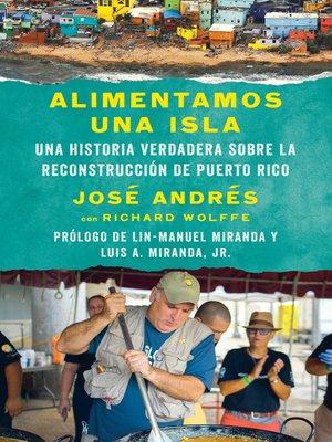 cover image of Alimentamos una isla