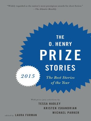 cover image of The O. Henry Prize Stories 2015