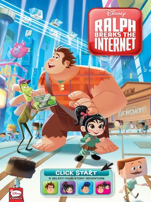 cover image of Disney Ralph Breaks the Internet: Click Start