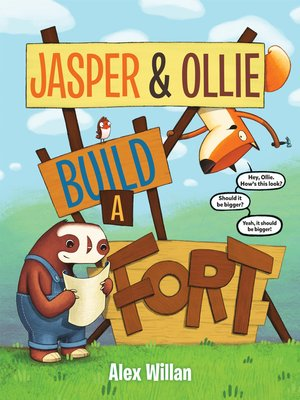 cover image of Jasper & Ollie Build a Fort