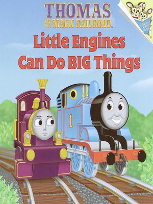 cover image of Little Engines Can Do Big Things (Thomas & Friends)