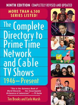 cover image of The Complete Directory to Prime Time Network and Cable TV Shows, 1946-Present