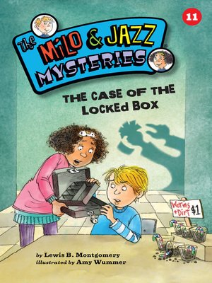 cover image of The Case of the Locked Box (Book 11)