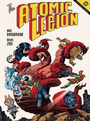 cover image of The Atomic Legion