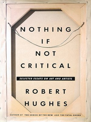 cover image of Nothing If Not Critical