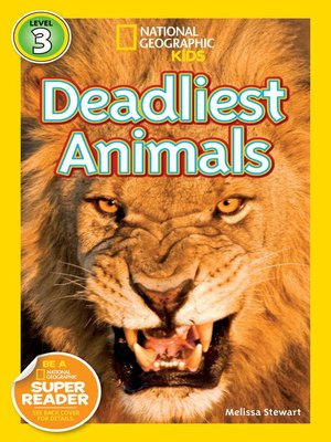 cover image of National Geographic Readers: Deadliest Animals