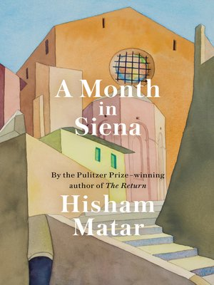 cover image of A Month in Siena
