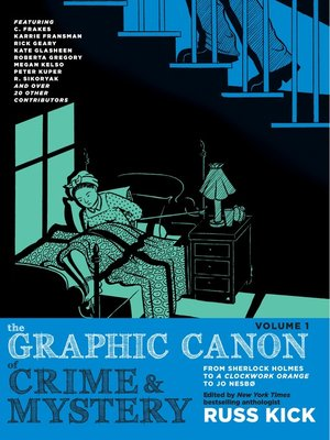 cover image of The Graphic Canon of Crime and Mystery, Volume 1