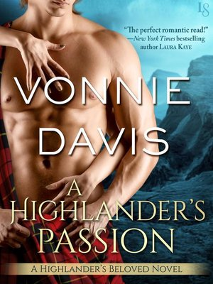 cover image of A Highlander's Passion