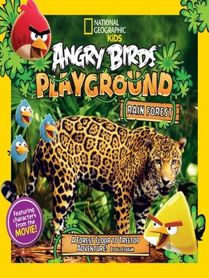 cover image of Angry Birds Playground: Rain Forest