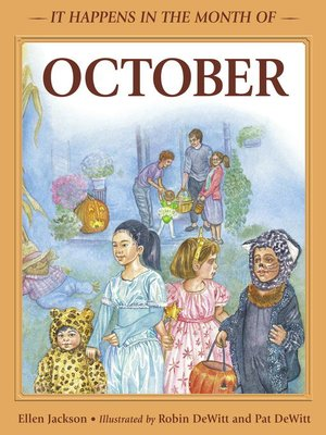 cover image of It Happens in the Month of October