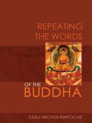 cover image of Repeating the Words of the Buddha