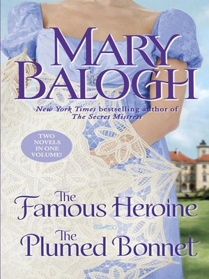 cover image of The Famous Heroine/The Plumed Bonnet