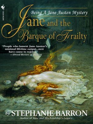 cover image of Jane and the Barque of Frailty