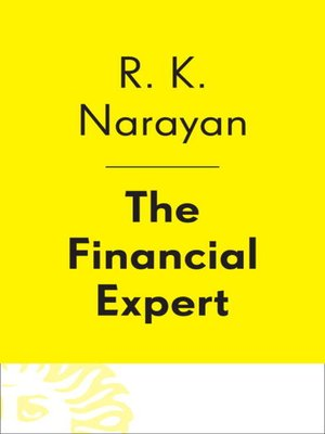 The Financial Expert By R.K. Narayan